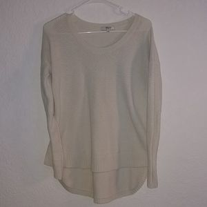Madewell Hi-Lo sweater